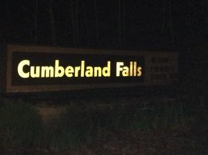 Cumberland Falls Sign