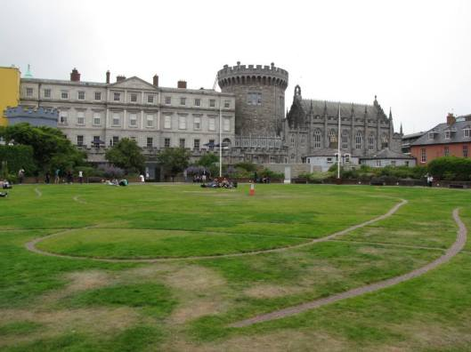 Dublin Castle and Park