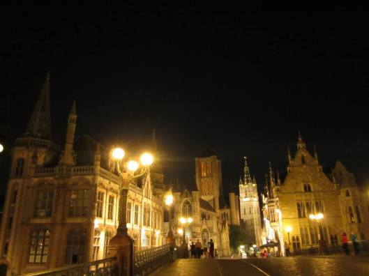 Gent-Night Bridge