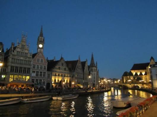 Ghent-GhentCanalEvening