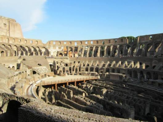 Interior of Coliseum