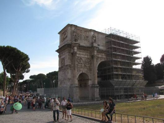 Rome-Arch of Constantine 1